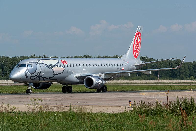 Embraer 190-100LR (OE-IHA) Niki D801634
