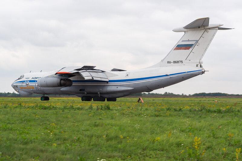 Ильюшин Ил-76М (RA-86875) ВВС России D802542a