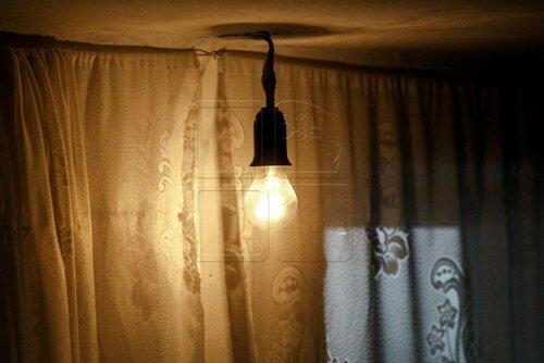 Электричество в доме, как чудо для пенсионерки в Новый год