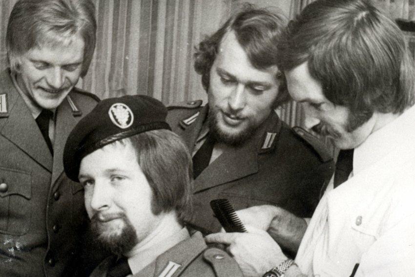 jurashz.livejournal.com, солдаты с длинными волосами, германия, армия, 1970е годы