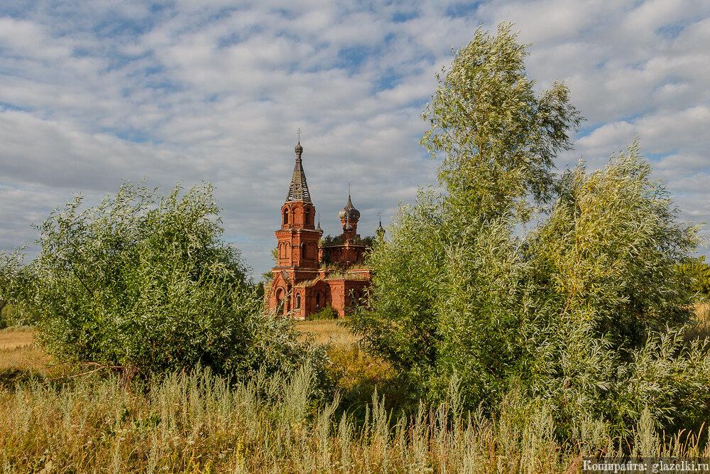Максимов Починок, церковь Вознесения Господня.
