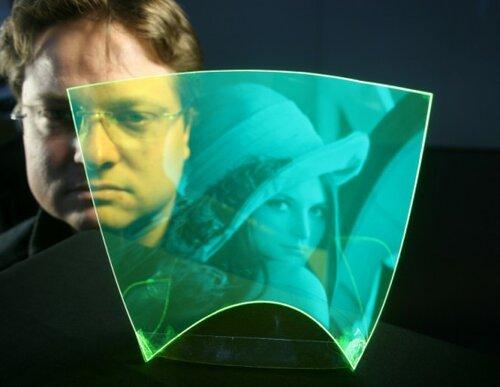Плоская прозрачная камера – будущее дисплеев?