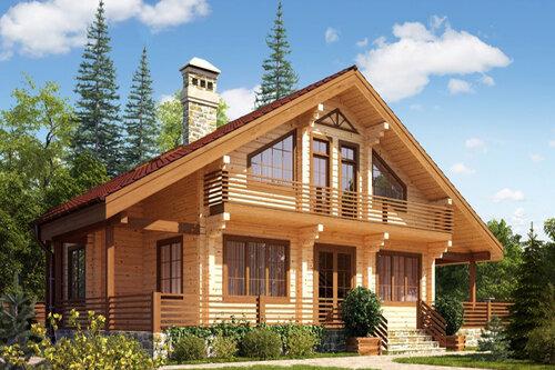 Строительство домов из бруса. Основные  преимущества