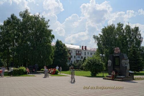 Солнечногорск, Советская площадь