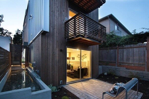 Узкий дом для узкого участка