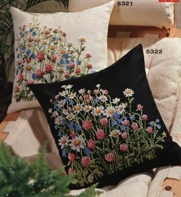 полевые цветы - фото