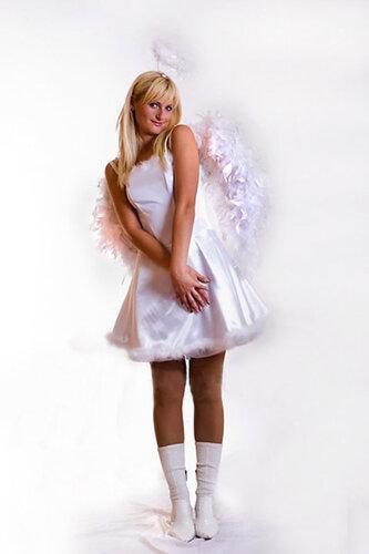 Женский карнавальный костюм Ангел