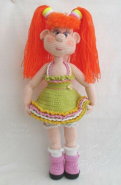 Рост куколки 35 см.