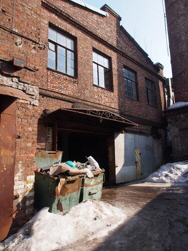 пристройки на территории фабрики мельцера, кирпичный стиль