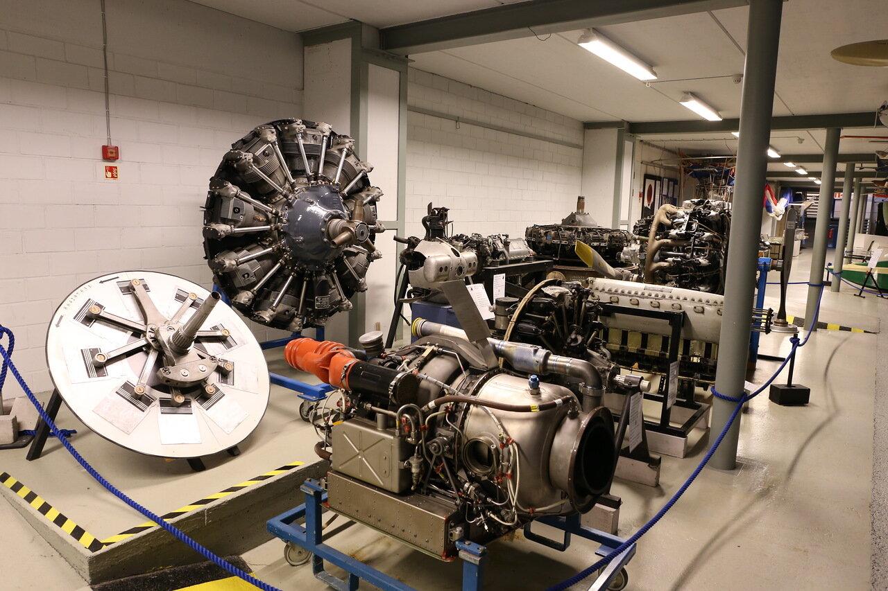 Helsinki-Vantaa Air Museum. Aviadvigatels