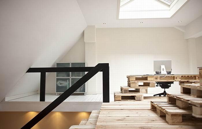 Мебель из грузовых паллет. Офис, дом, дача. Часть вторая