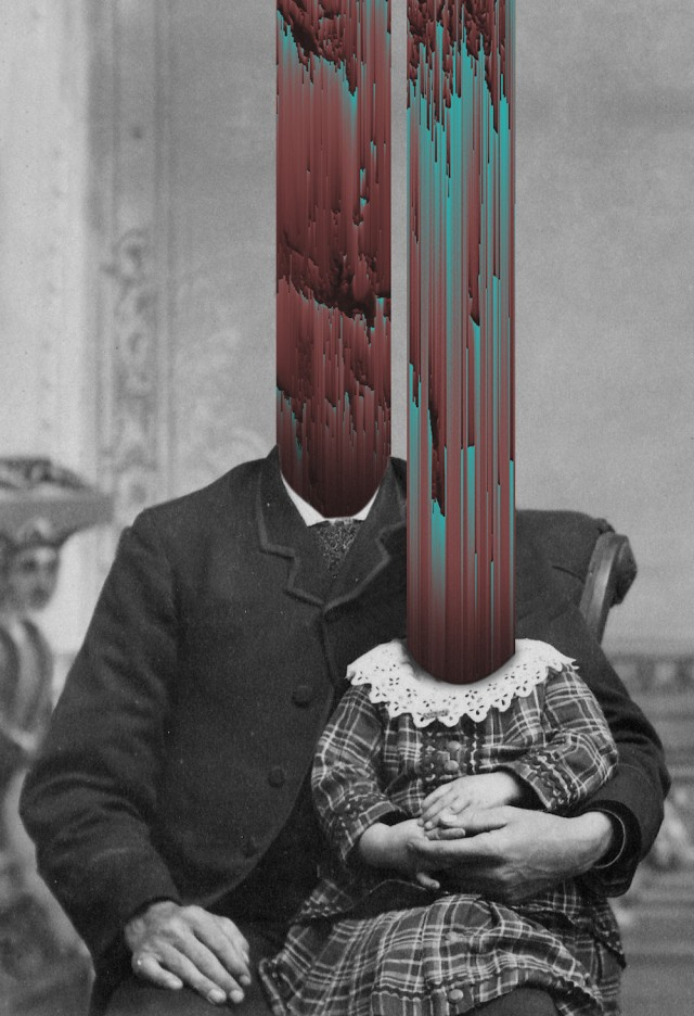 Glitched Digital Collages