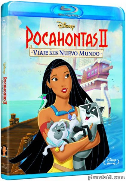 Покахонтас 2: Путешествие в Новый Свет / Pocahontas II: Journey to a New World (1998/HDRip)