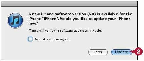 iTunes загрузит новое программное обеспечение