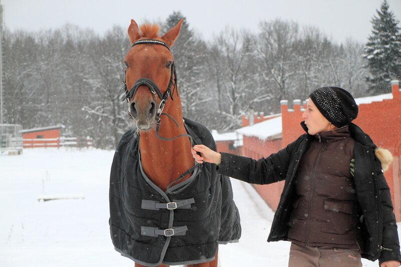 Лошадка и ее хозяйка