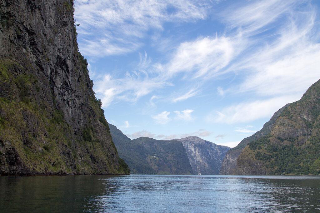 Самый большой фьорд Норвегии - Согнефьорд