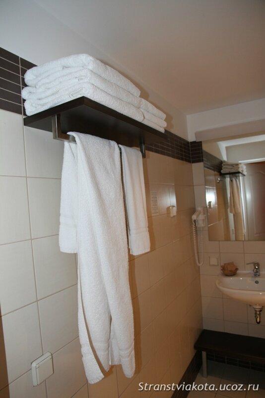 Санузел в Вилла Люкс в отеле Margis (Литва)