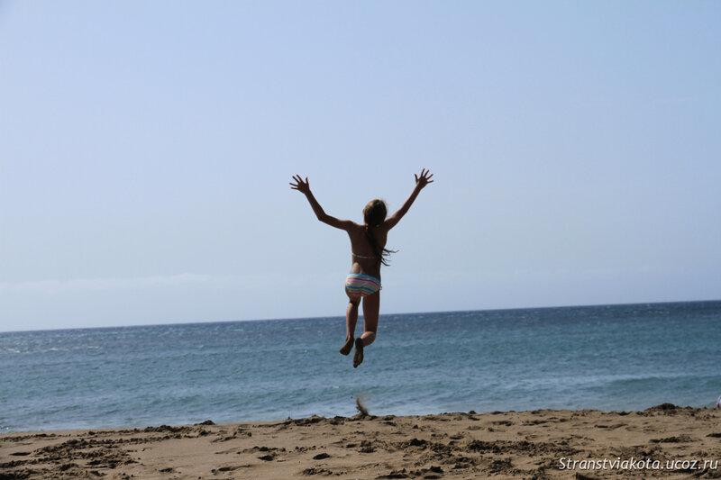 Лансароте, пляж Матагорда