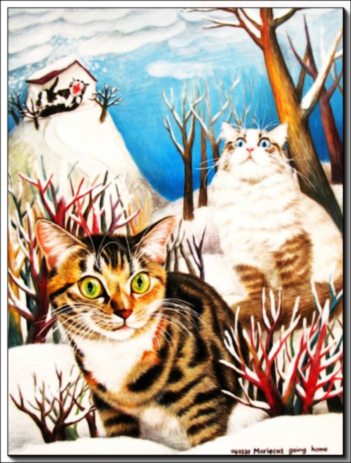 Прелестные кошечки Mariecat