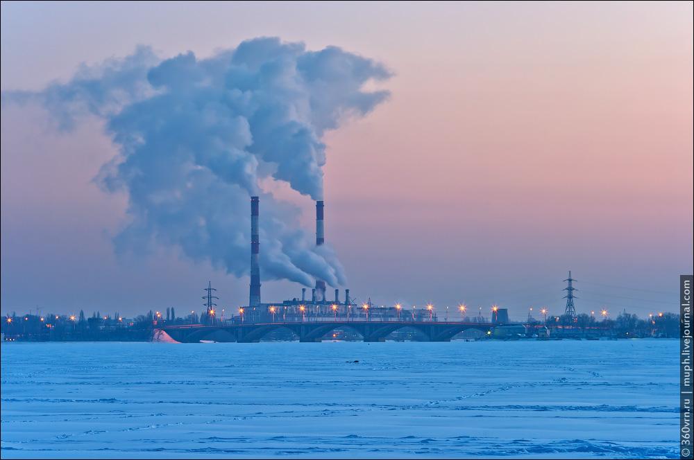 Воронеж зимой фото