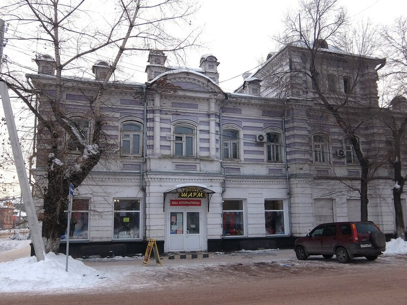 Минусинск - Дом, где находился штаб партизан