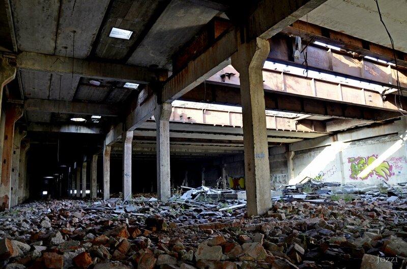 осень 2013, покинутый завод