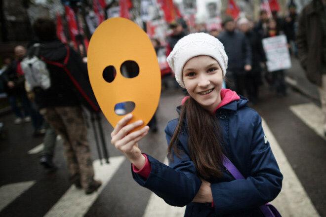 Шествие в защиту политзаключенных от 27 октября 2013 г. © Митя Алешковский, «Большой город»