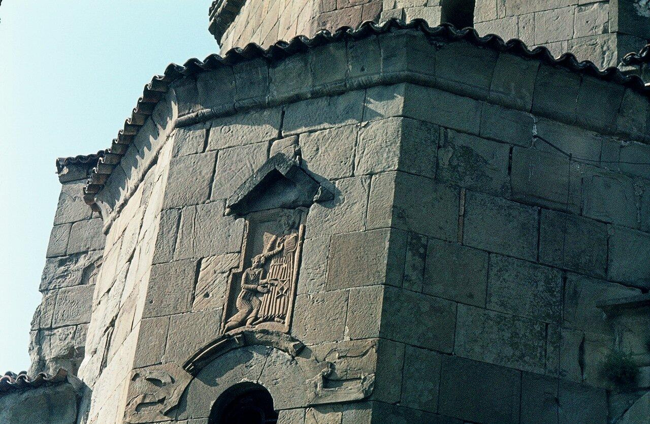 По дороге в Орджоникидзе. Руины монастыря Джвари