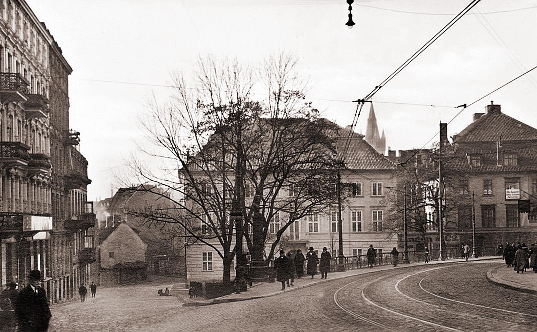 Бергплатц - Горная площадь. 1920-е