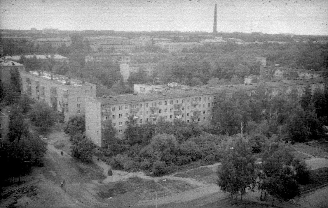 1990. Улица Щербакова.