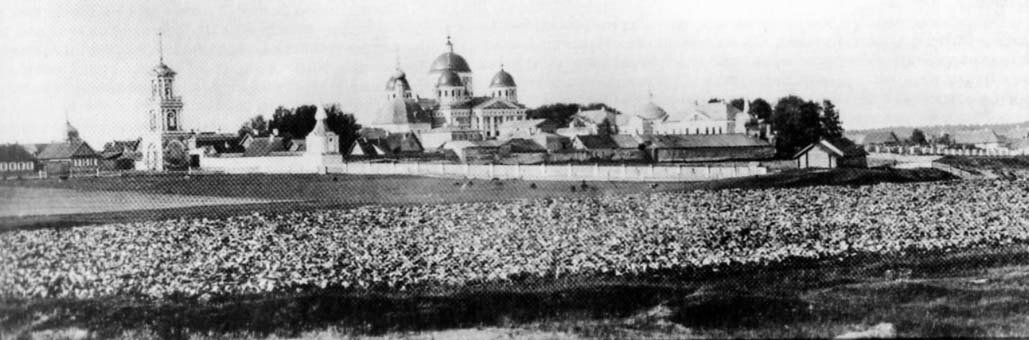 Христорождественский монастырь из-за Тьмаки. 1870