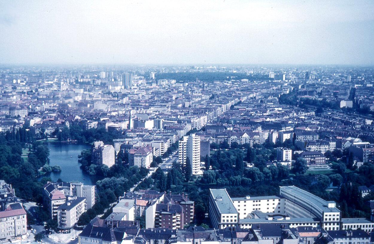 1963. Панорама города, сделанная с радиовышки