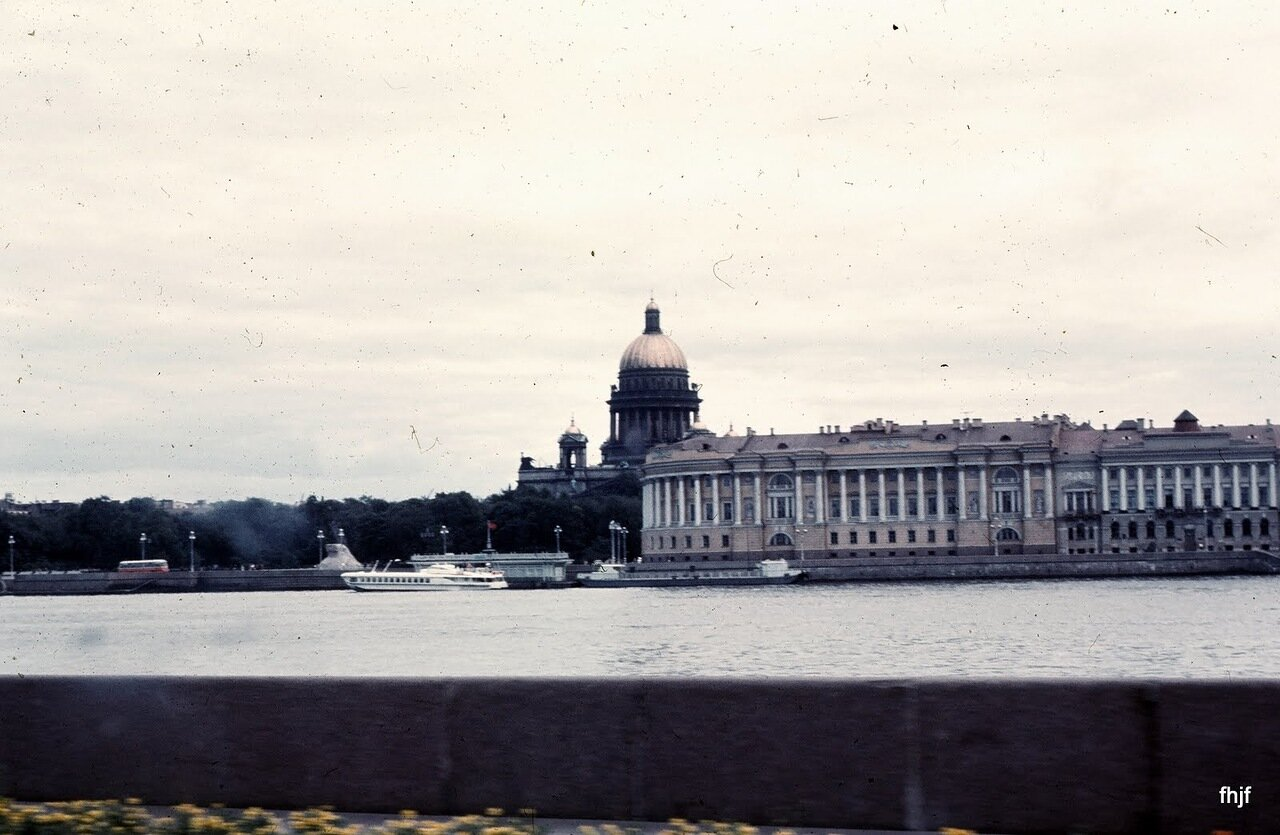 St Isaacs Cathedral across Neva River