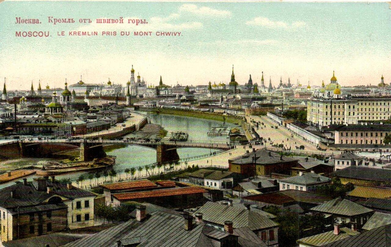 Кремль от Швивой горы