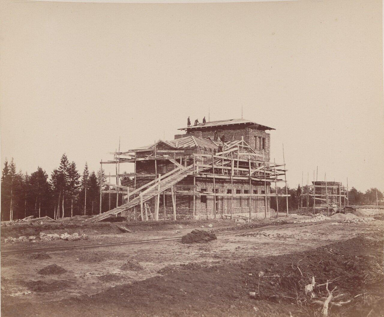 Строительство железнодорожной станции