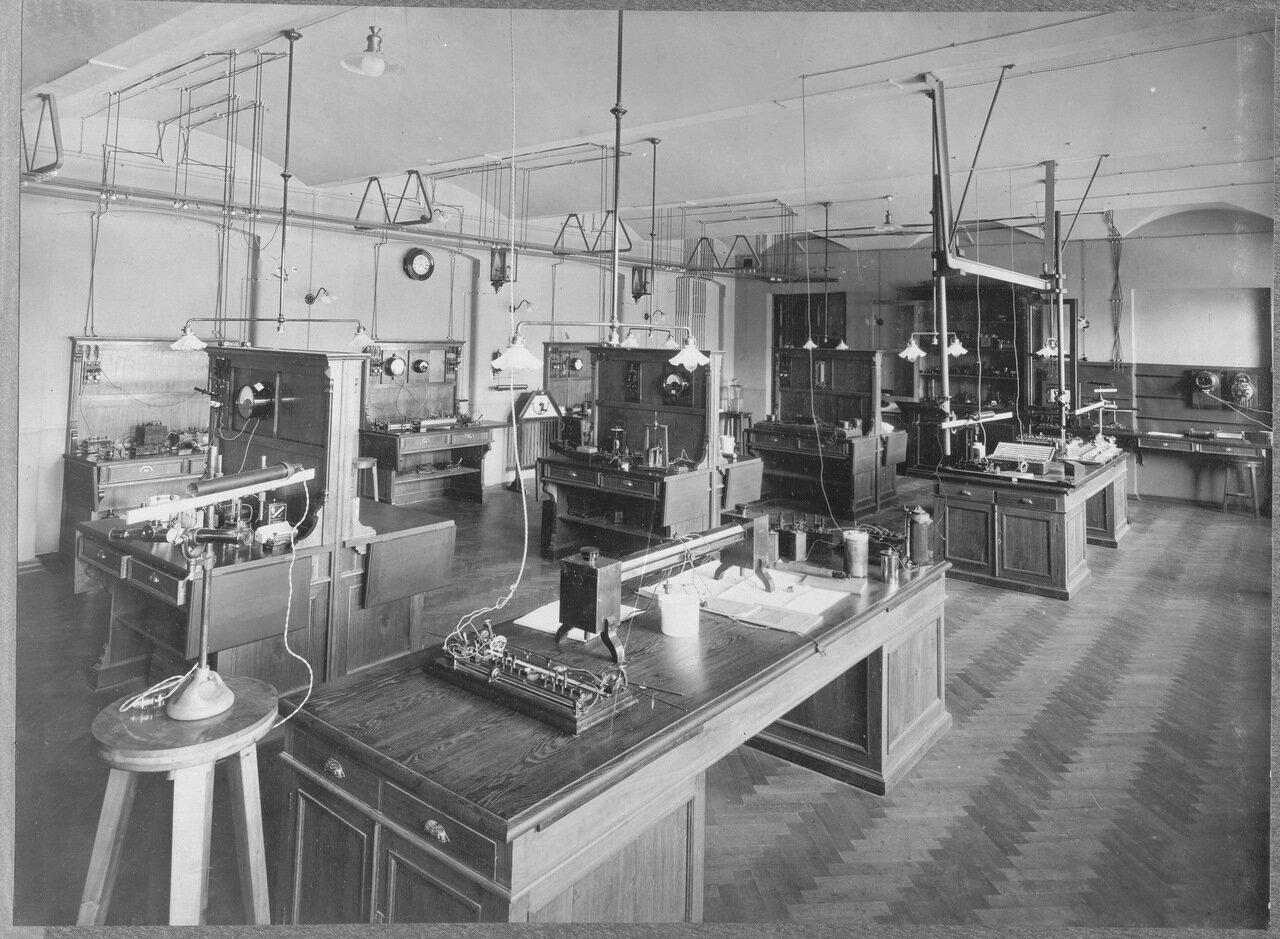 26. Измерительный зал электротехнической лаборатории