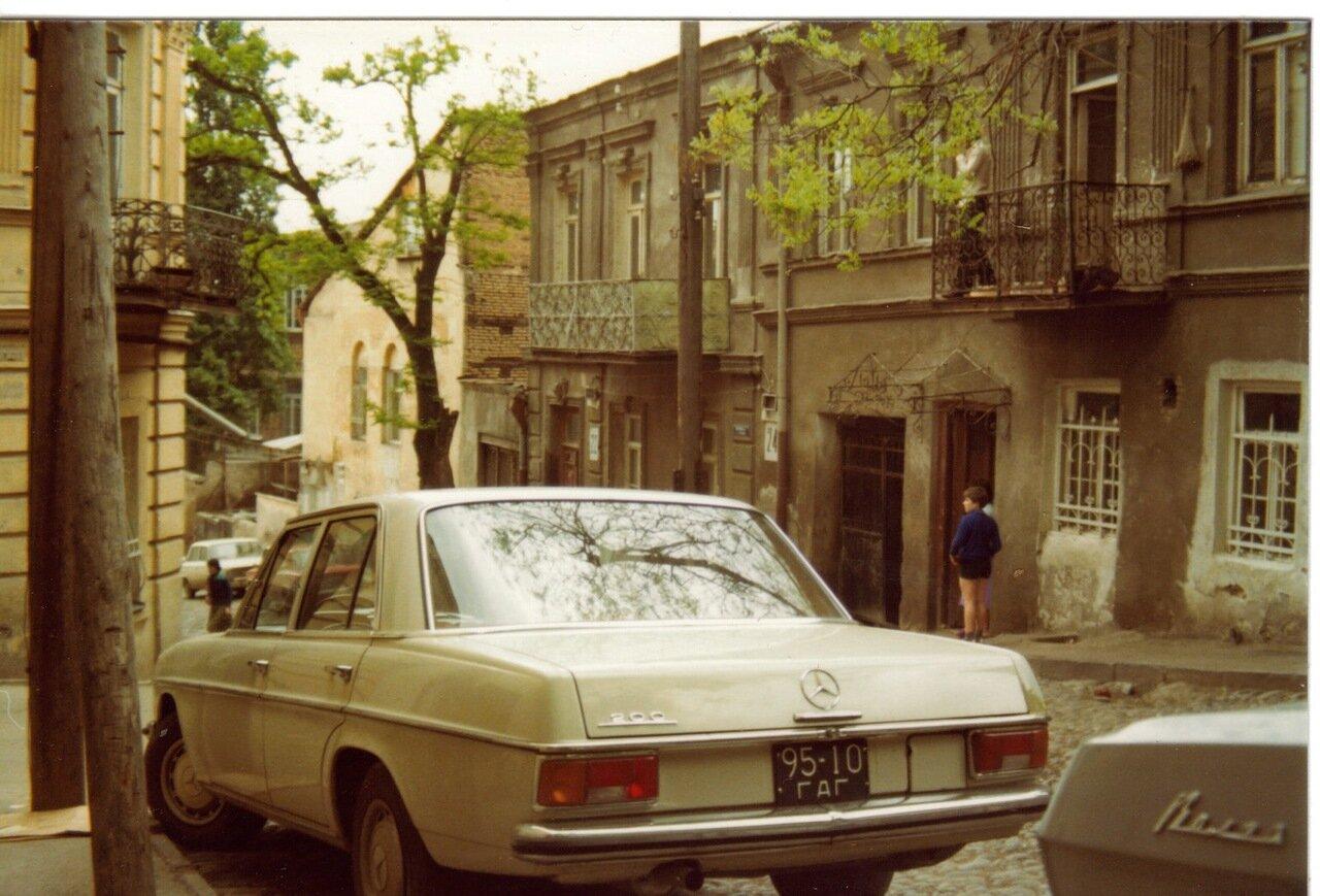 Тбилисский мерс.1976