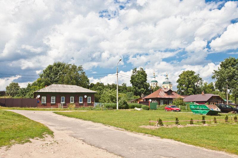 Жилые дома на Красной Горе