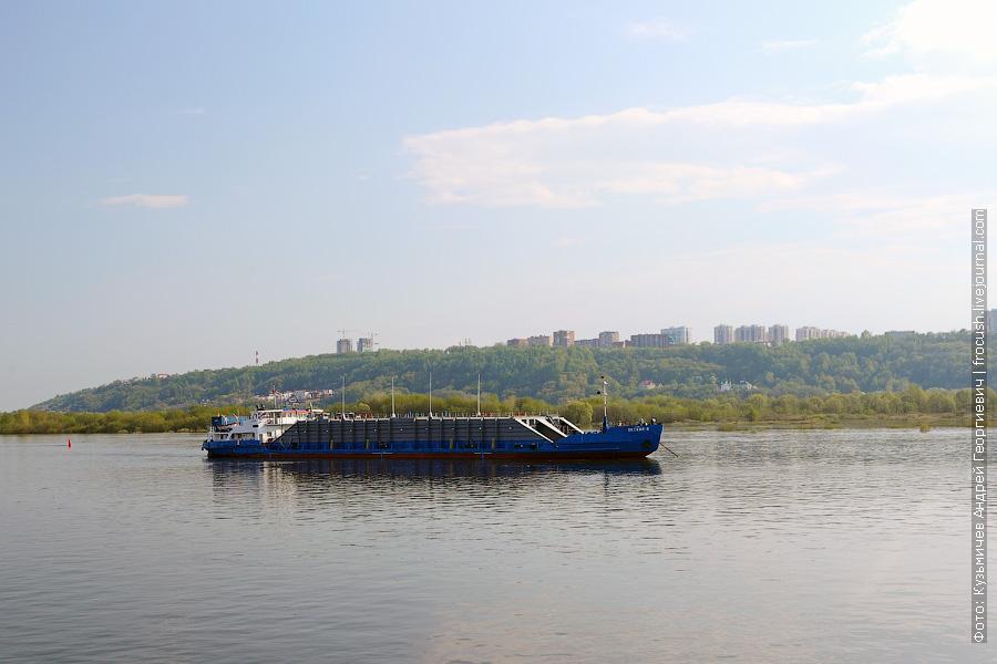 12 мая 2013 года 16:55. Нижний Новгород. Танкер «Окский-8»