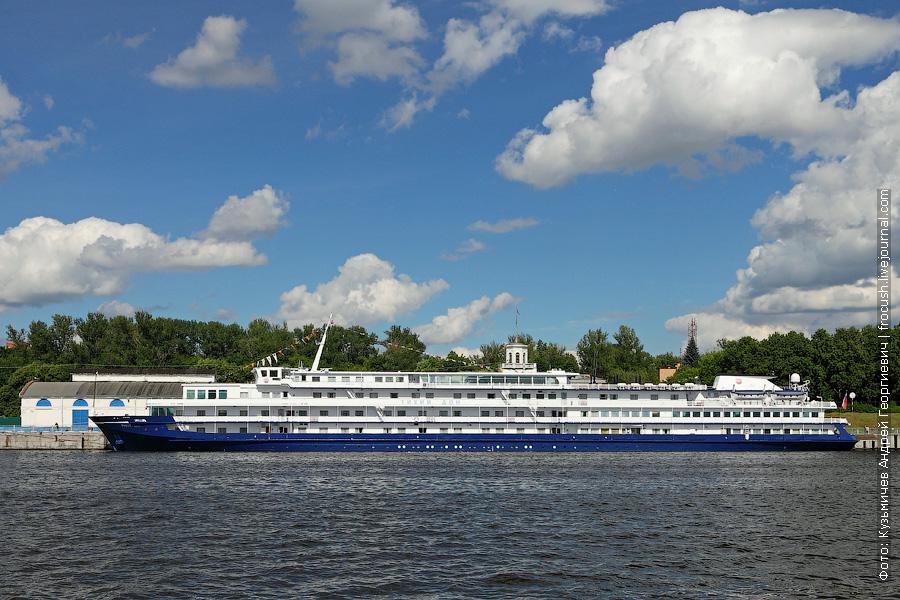 12 июня 2013 года. Северный речной порт Москвы. Теплоход «Тихий Дон»
