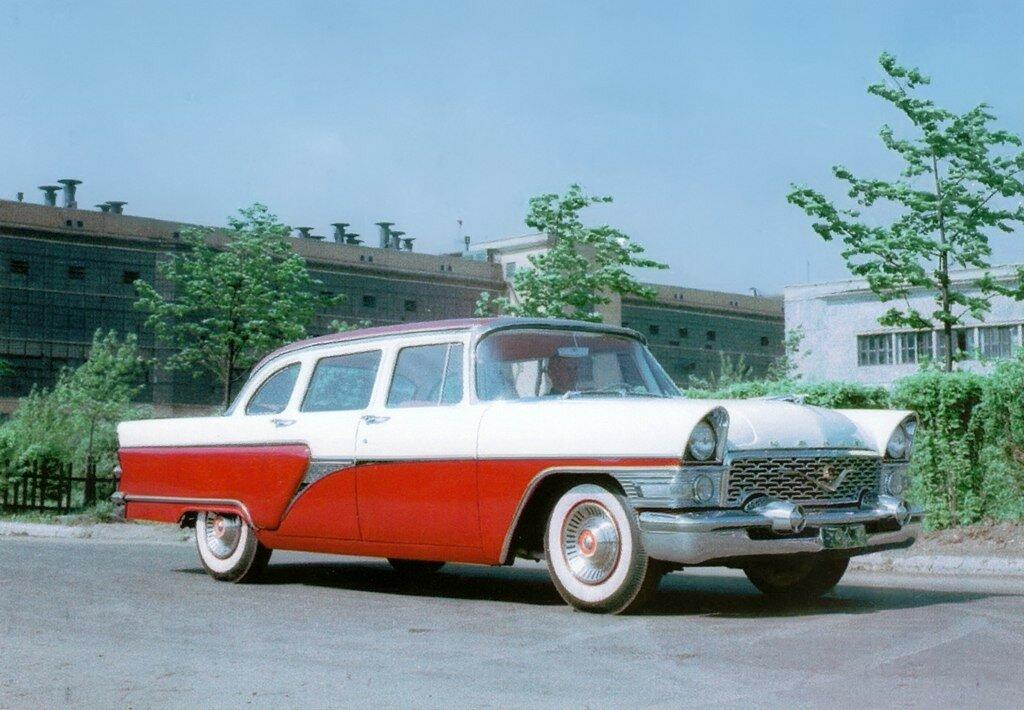 ГАЗ-13 'Чайка' Предсерийный '1957.jpg