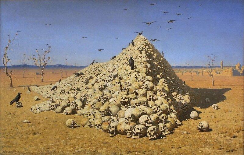 Верещагин В. - Апофеоз войны (1871)