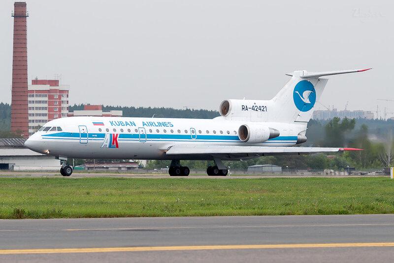 Яковлев Як-42Д (RA-42421) Авиационные линии Кубани DSC2071