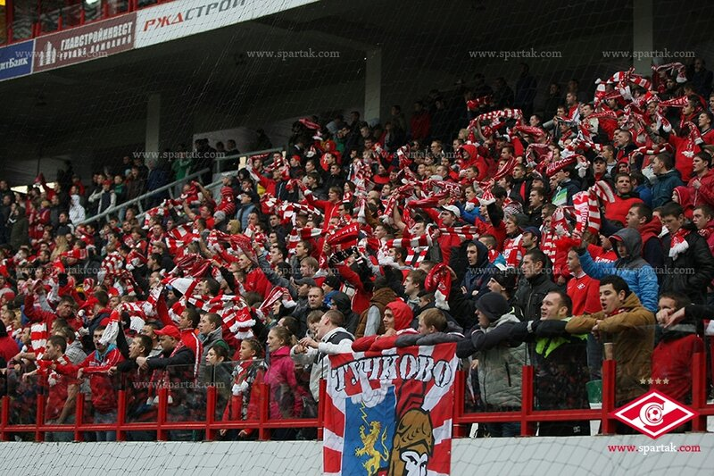 «Спартак» vs «Краснодар» 3:2 Премьер-лига 2013-2014 (Фото)