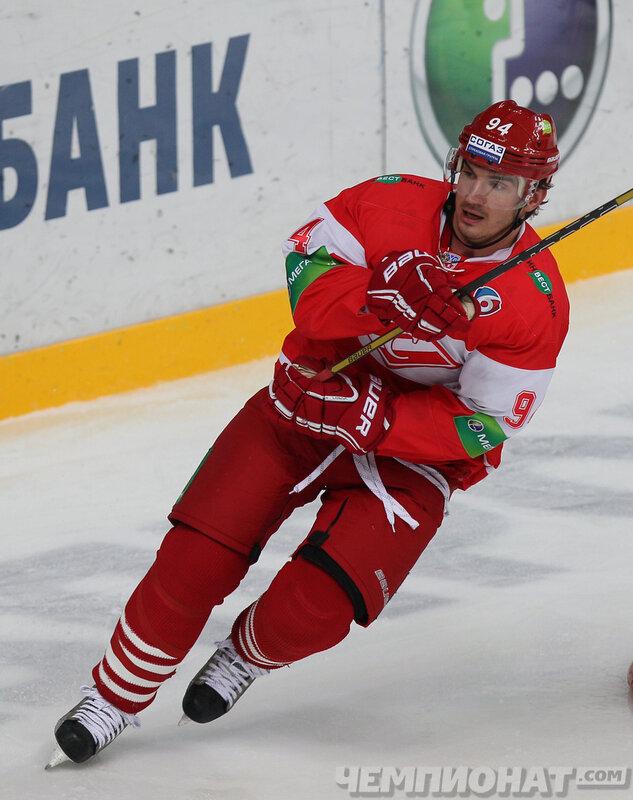 «Спартак» vs «Адмирал» 1:3 чемпионат КХЛ 2013-2014 (Фото)
