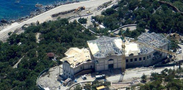Крымский дворец наследного принца — Саши Януковича