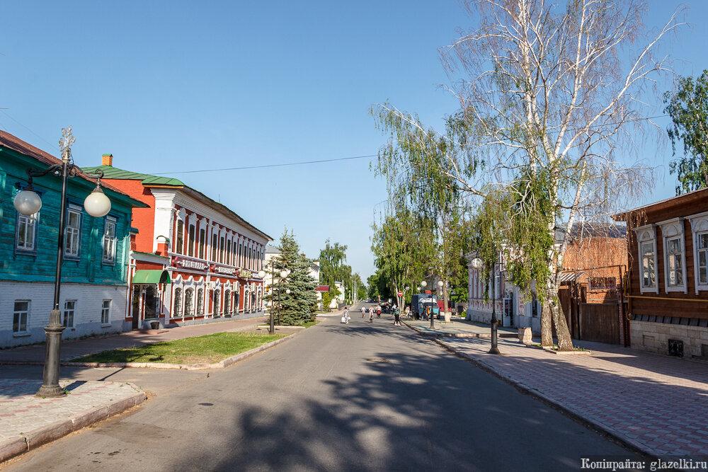 Елабуга, улица Казанская.