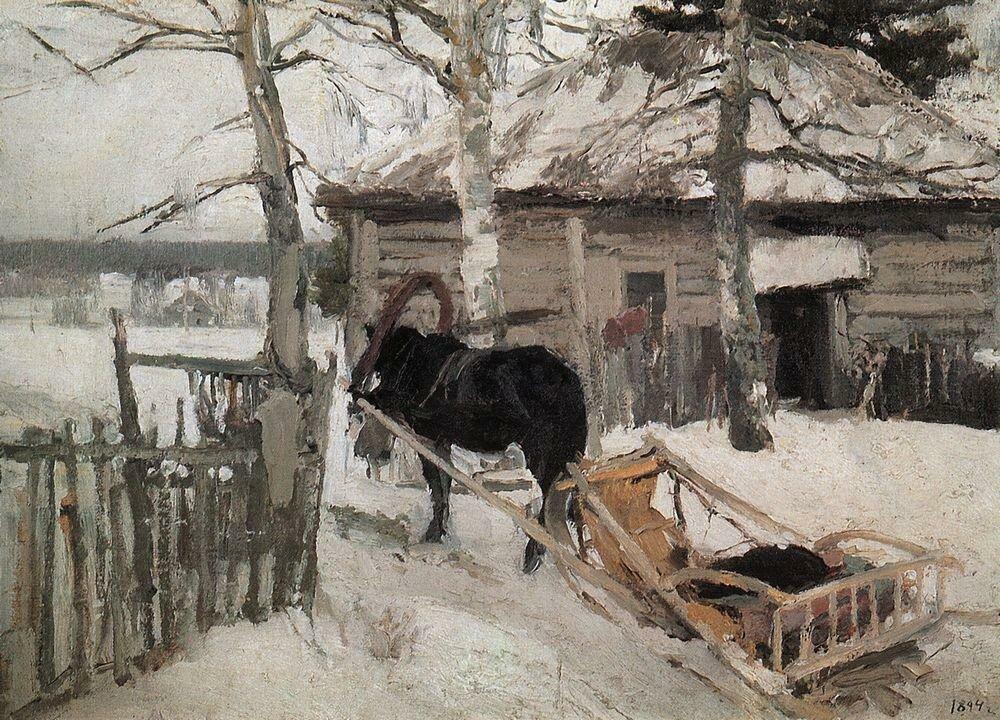Зимой. 1894.jpg