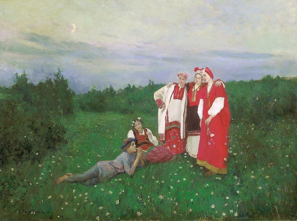 Северная идиллия2. 1886.jpg