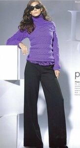 Косы в ультрафиолете (свитерок от Филати) Наши воплощения